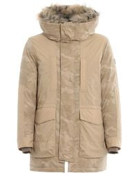 Woolrich - Padded Military Hooded Parka - Lyst