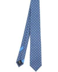 Ermenegildo Zegna Photograph Tie - Blue