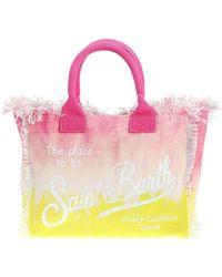 Mc2 Saint Barth Vanity Tie-dye Beach Bag - Pink