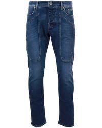 Jeckerson Faded Denim Jeans - Blue