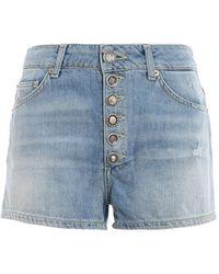 Dondup Klum Denim Shorts - Blue