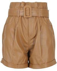 FEDERICA TOSI Shorts - Neutro
