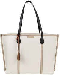 Tory Burch Perry Triple-compartment Tote - White