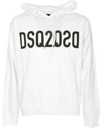DSquared² - Felpa DSQ2 bianca - Lyst