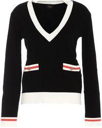 Liu Jo V-neckline Black Sweater