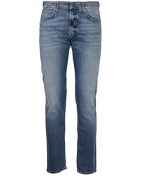 Roy Rogers Five-pocket Jeans - Blue