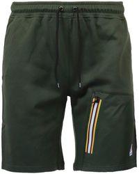 K-Way Shorts Le Vrai Gontrand Verde