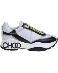 Jimmy Choo Sneakers Raine Bicolor - Bianco