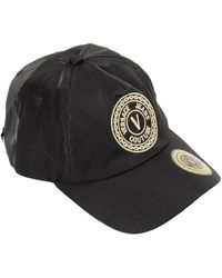 Versace Jeans Couture Logo Embroidery Baseball Cap - Black