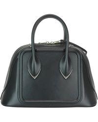 Alexander McQueen Pinter Calfskin Bag - Black