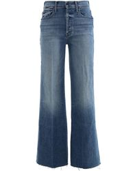 Mother The Tomcat Roller Fray Jeans - Blue