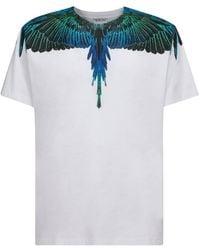 Marcelo Burlon T-Shirt Wings Bianca - Bianco