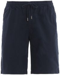 Woolrich Micro Ripstop Blue Shorts