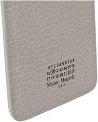 Maison Margiela Shoulder Phone Holder In Ivory - Natural