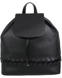 Borbonese - Braided Backpack In Black - Lyst