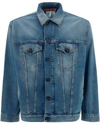 Acne Studios Denim Jacket - Blue