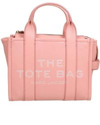 Marc Jacobs Mini Traveller Tote Bag In Southern Peach Colo - Pink