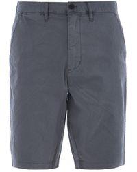 Emporio Armani Gray Chino-style Short Pants