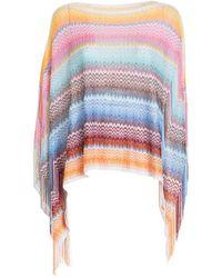 Missoni Poncho - Multicolore