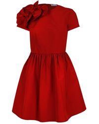 RED Valentino Vestito dettaglio fiocchi - Rosso