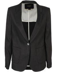 Seventy Wool Blend Blazer - Black
