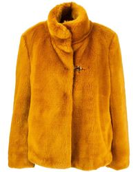Fay Lined Cape - Yellow
