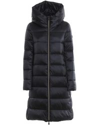 Save The Duck Black Hooded Padded Coat