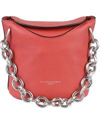 Gianni Chiarini Sophia Soft Leather Bucket Bag - Red