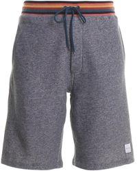 Paul Smith Fleece Short sweatpants - Gray