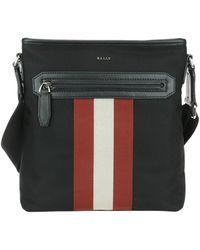 Bally - Currios Black Tech Fabric Messenger Bag - Lyst