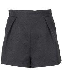 MSGM - Shorts a vita alta - Lyst