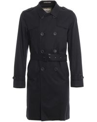 Herno - Trench in cotone - Lyst