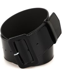 P.A.R.O.S.H. Luxibelt Patent Belt - Black