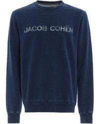 Jacob Cohen Logo Sweatshirt - Blue