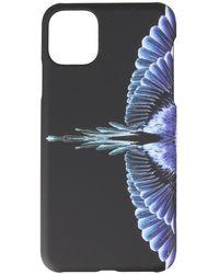 Marcelo Burlon Custodia Wings per iPhone 11 Pro Max - Nero