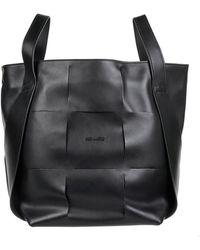 Vic Matié Nadege Bucket Bag In Black