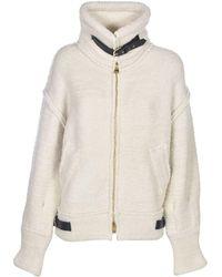 Laneus Straps Jacket In White