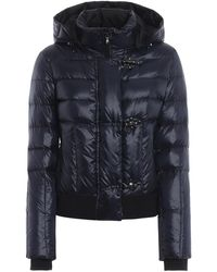Fay Polyamide Down Jacket - Blue