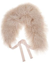 P.A.R.O.S.H. Fur Collar - Natural