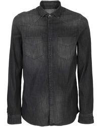 Dondup Denim Shirt - Black