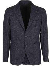 Tagliatore Blazer Montecarlo in lana - Blu