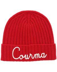 Mc2 Saint Barth Courma Embroidery Beanie - Red
