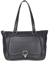 Liu Jo Faux Leather Tote Bag - Black