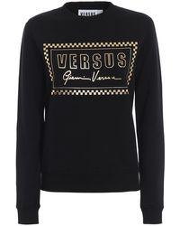 Versus Versus Gianni Versace 90s Slim Sweatshirt - Black