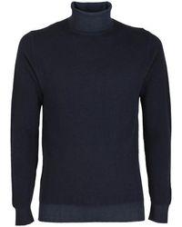Circolo 1901 Merino Wool Turtleneck - Blue