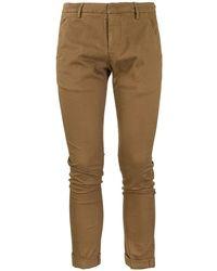 Dondup Gaubert Gabardine Trousers - Multicolour