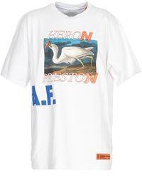 Heron Preston - T-Shirt A.F. Bianca - Lyst