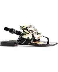 15858c588b3 Steve Madden Cady Slide Sandal in Metallic - Lyst