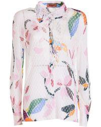 Missoni Camicia con stampa floreale - Multicolore