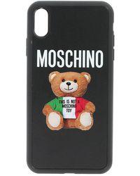 Moschino Cover iPhone Xs Max nera - Nero